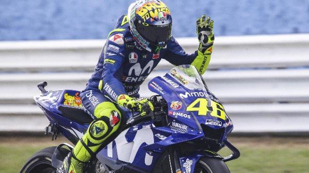 Gp Misano: Rossi, dispiace per 3/a fila