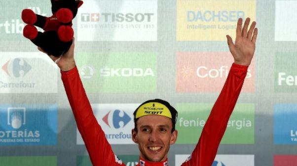 Tour d'Espagne: Yates gagne et reprend le maillot rouge