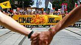 Marche pour le climat à San Francisco le 8 septembre 2018