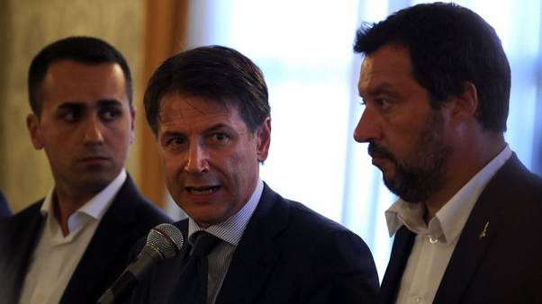 Italian PM says government never considered leaving the euro