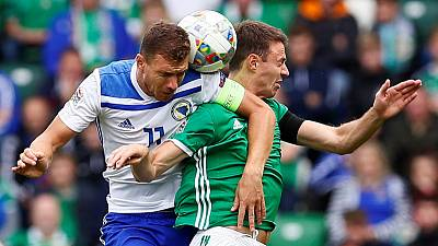 Bosnia begin Nations League with win in Northern Ireland