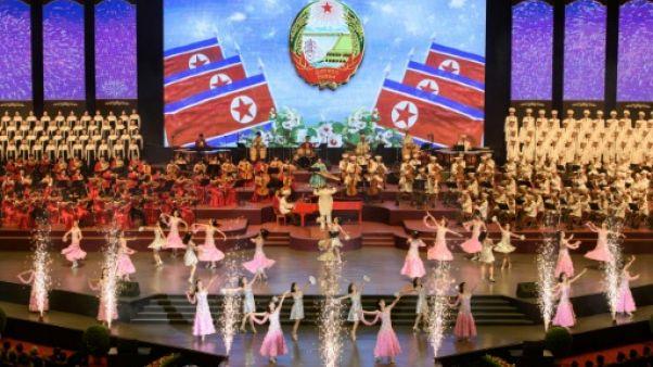 Des champs de blé et pas de missiles pour les 70 ans de la Corée du Nord