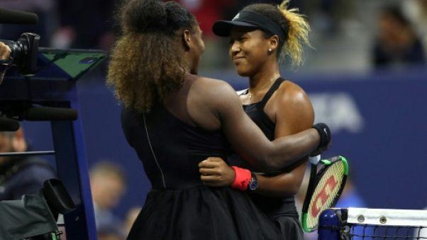 US Open: Osaka sacrée, la finale marquée par une polémique d'arbitrage avec Serena