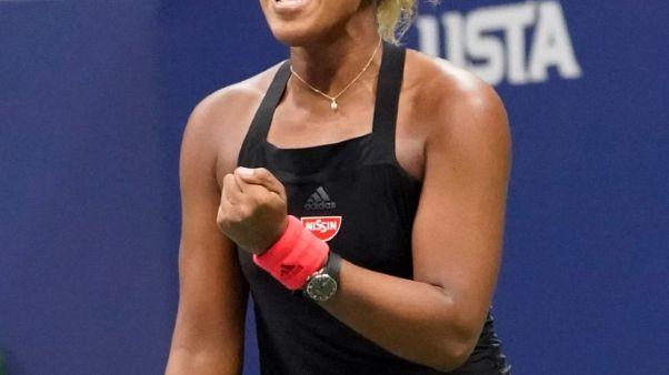 أوساكا تحصد لقب أمريكا المفتوحة بعد معاقبة سيرينا