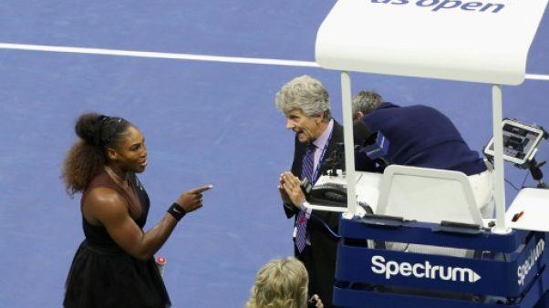 US Open: Serena s'emporte contre l'arbitre, Osaka sacrée