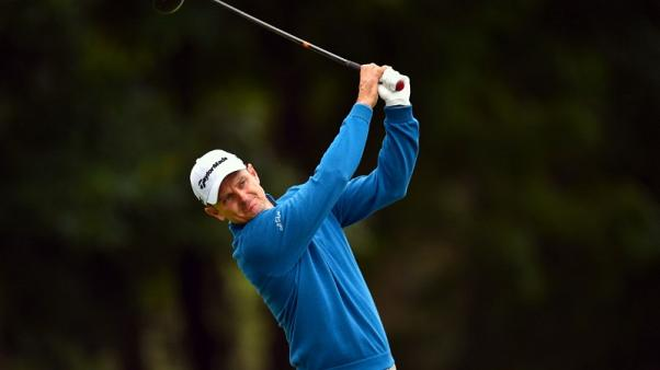 Golf - Rose leads McIlroy, Schauffele by one shot at BMW Championship