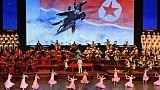 Parade militaire géante pour le 70e anniversaire de la Corée du Nord