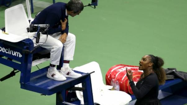 "US Open: ""Je n'ai pas triché"" réaffirme  Serena Williams"
