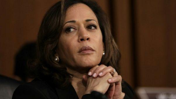 Au Sénat américain, entrée en scène remarquée de présidentiables démocrates