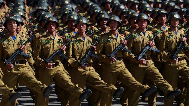 الصواريخ الطويلة المدى تغيب عن احتفال كوريا الشمالية بذكرى تأسيسها