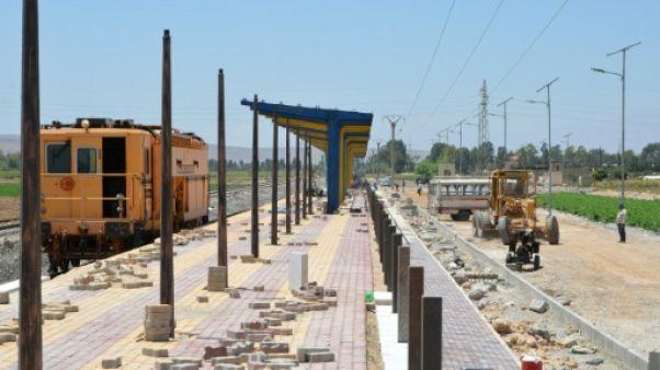 En Syrie, réhabiliter le chemin de fer pour reconstruire le pays