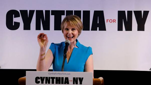 Cynthia Nixon casts herself as latest Democratic insurgent in NY governor race