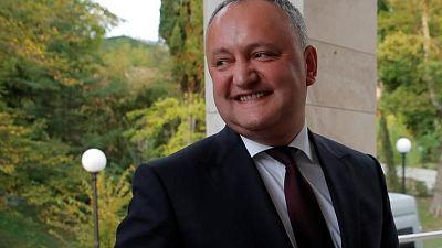 Moldovan president involved in car crash but not hurt -RIA