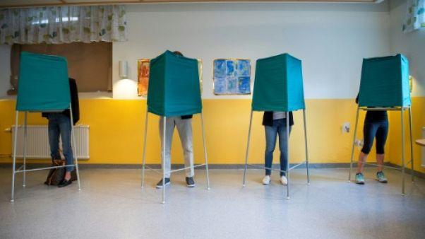Bureau de vote à Stockholm le 9 septembre 2018