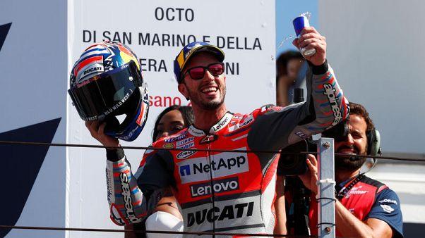 Dovizioso wins San Marino GP for Ducati