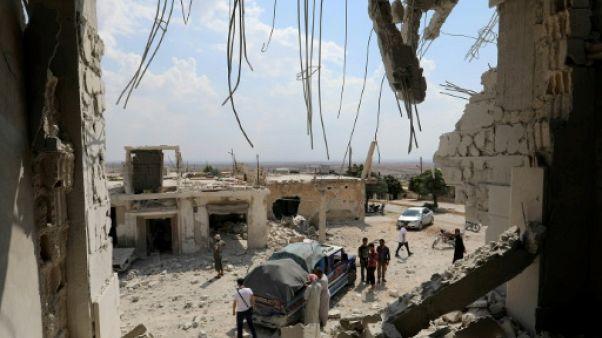 Syrie: deux enfants tués dans de nouveaux bombardements syriens et russes sur Idleb