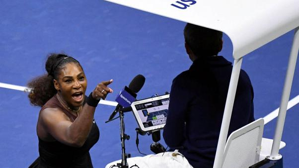 Williams fined $17,000 for U.S. Open code violations
