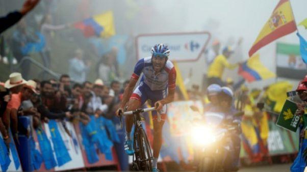 Tour d'Espagne: Pinot sort du brouillard, Yates reste en rouge
