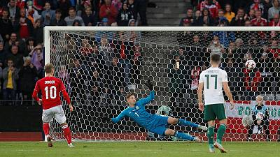 Eriksen leads returning Danish team to win over Wales