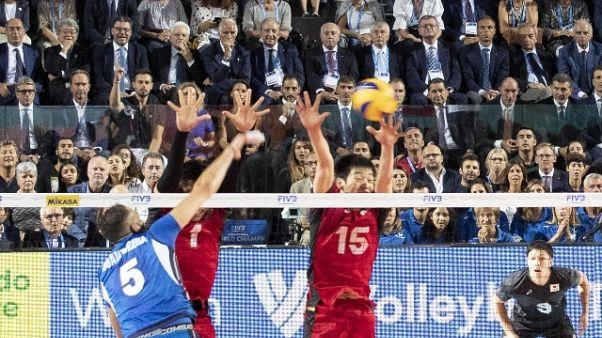 Mondiali volley: Italia-Giappone 3-0