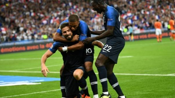 Ligue des nations: la France à la fête