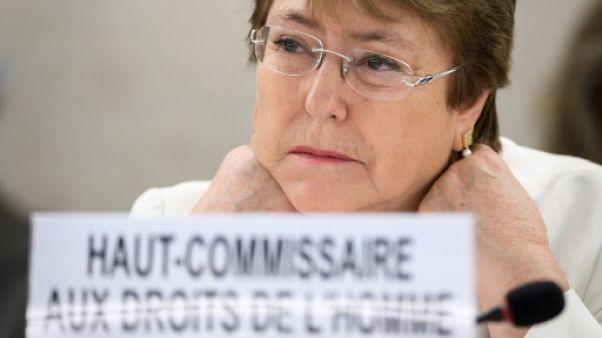 ONU: Bachelet épingle la Birmanie, la Chine et les pays occidentaux