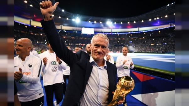 """Deschamps: la fête au Stade de France """"restera gravée dans toutes nos mémoires"""""""