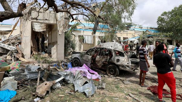At least six dead in al Shabaab attack on Somalia's capital