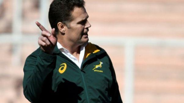 Rugby Championship: l'entraîneur sud-africain Erasmus inquiet avant le match contre les All Blacks