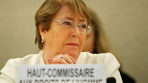 U.N. rights chief Bachelet takes on China, other powers in first speech