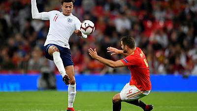 Alli out of Switzerland friendly with muscle strain