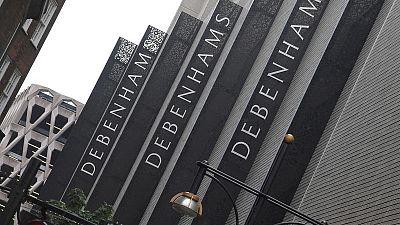 Shares in Debenhams slump as radical restructuring considered