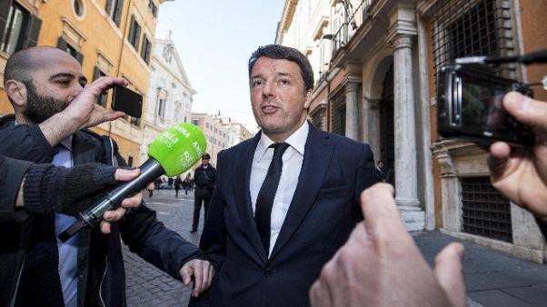 Renzi parte civile ascoltato tribunale