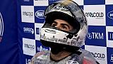 L'Italien Romano Fenati en Moto 3 lors du GP du Japon le 13 octobre 2017