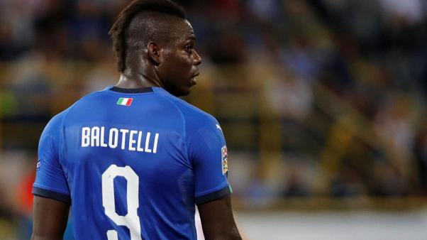 Balotelli left out of Italy's 23 to face Portugal