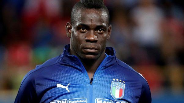 استبعاد بالوتيلي من تشكيلة ايطاليا لمواجهة البرتغال في دوري الأمم