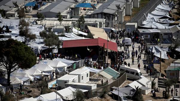 Greece's Moria migrant camp faces closure over public health fears