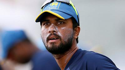 Cricket - Chandimal out of Asia Cup with finger injury