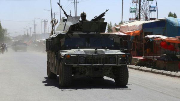 Près de 60 policiers et soldats ont été tués dans le nord de l'Afghanistan