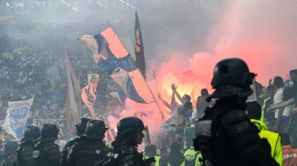 Europa League: 1 match à huis clos et 2 à huis clos partiel en appel pour l'OM
