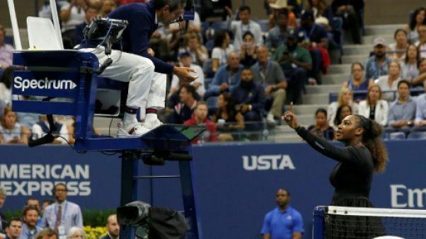 US Open: les sanctions contre Serena, dernier épisode d'un arbitrage qui se fait remarquer