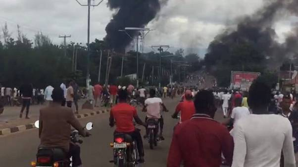 Nigerian gas tanker explosion kills at least 35