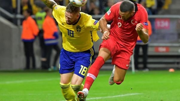 Lata Akbaba double gives Turkey 3-2 Nations League win in Sweden