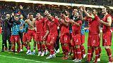 ثنائية اكبابا في الوقت القاتل تقود تركيا للفوز 3-2 على السويد
