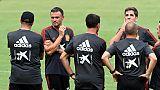 Ligue des nations: choc Espagne-Croatie, rentrée Belge