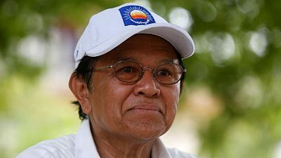 U.S. urges Cambodia to remove restrictions against opposition leader