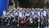 Ciclismo:Granfondo Roma fino ai Castelli