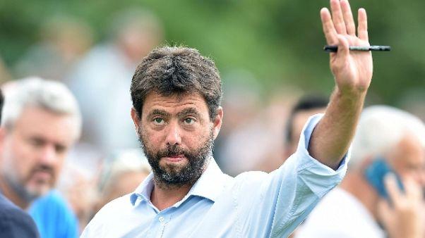 "Agnelli: ""Da Eca ok a terzo torneo Uefa"""