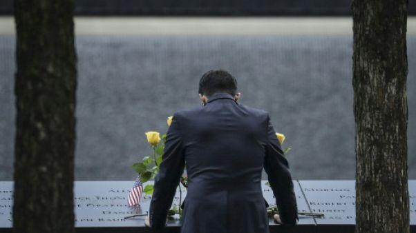 Hommage aux victimes du 11-Septembre à New York