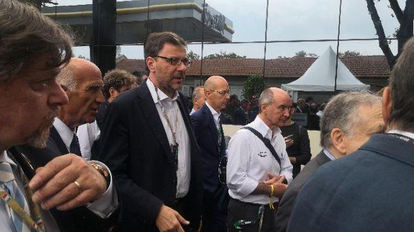"""Giochi: Giorgetti """"Candidatura è Italia"""""""